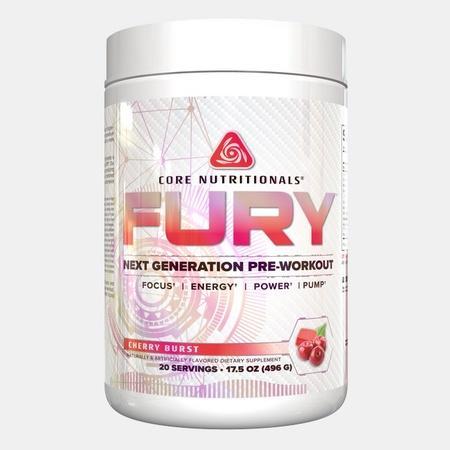 Core Nutritionals FURY Cherry Burst - 20 Servings