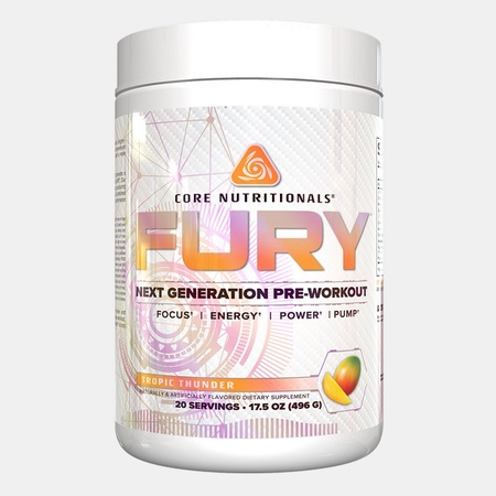 Core Nutritionals FURY Tropic Thunder - 20 Servings