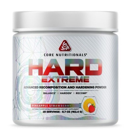 Core Nutritionals HARD Extreme Pineapple Strawberry - 28 Servings