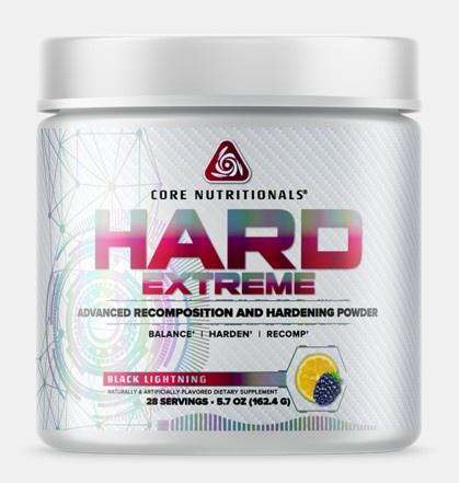 Core Nutritionals HARD Extreme Black Lightening - 28 Servings