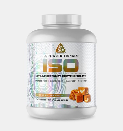 Core Nutritionals ISO Peanut Butter Toffee - 5 Lb