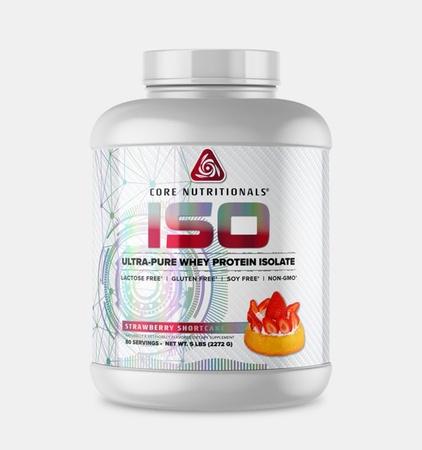 Core Nutritionals ISO Strawberry Shortcake - 5 Lb