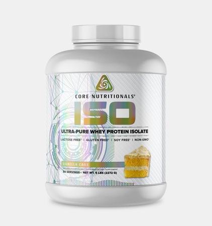 Core Nutritionals ISO Vanilla Cake - 5 Lb