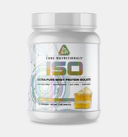 Core Nutritionals ISO Vanilla Cake - 2 Lb