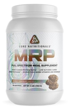 Core Nutritionals MRP Double Chocolate Oatmeal Cookie - 3 Lb