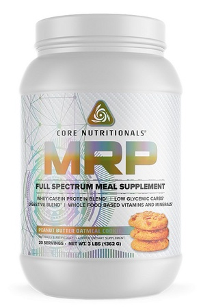 Core Nutritionals MRP Peanut Butter Oatmeal Cookie - 3 Lb
