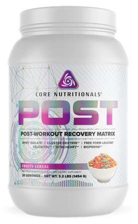 Core Nutritionals POST Fruity Cereal - 20 Servings