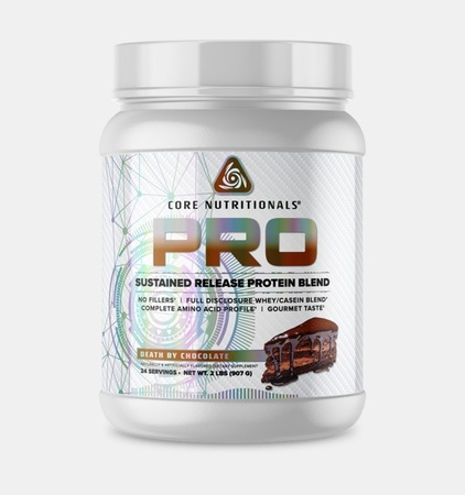 Core Nutritionals PRO Sustained Release Protein Blend Chocolate - 2 Lb