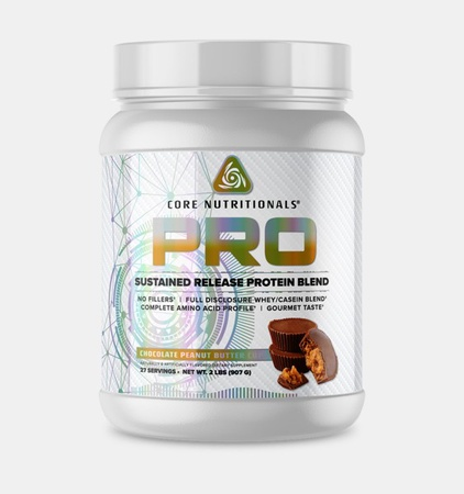 Core Nutritionals PRO Sustained Release Protein Blend Chocolate Peanut Butter - 2 Lb