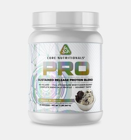 Core Nutritionals PRO Sustained Release Protein Blend Cookies N' Cream - 2 Lb