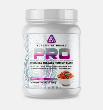 Core Nutritionals PRO Sustained Release Protein Blend Fruit Cereal - 2 Lb