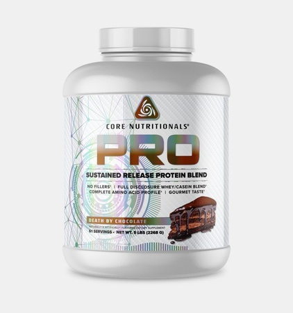 Core Nutritionals PRO Sustained Release Protein Blend Chocolate - 5 Lb