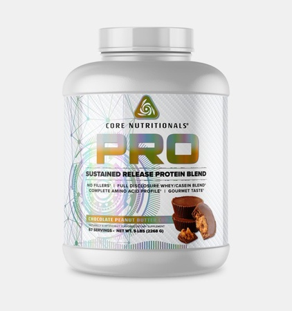 Core Nutritionals PRO Sustained Release Protein Blend Chocolate Peanut Butter - 5 Lb