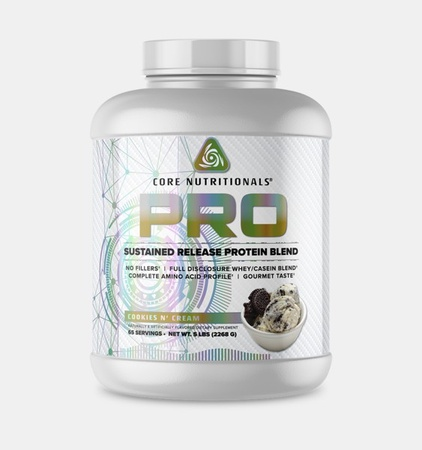 Core Nutritionals PRO Sustained Release Protein Blend Cookies N' Cream - 5 Lb