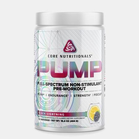 Core Nutritionals PUMP Black Lightning - 40 Scoops