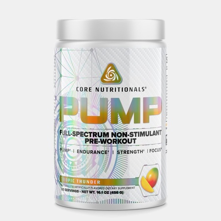 Core Nutritionals PUMP Tropic Thunder - 40 Scoops