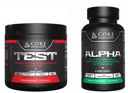 Core Nutritionals - Stack Core Alpha - Core TEST Punch Stack - 2 Btls