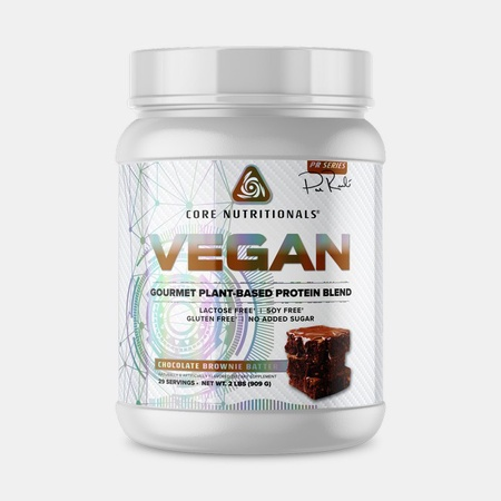 Core Nutritionals VEGAN Protein Chocolate Brownie Batter - 2 Lb