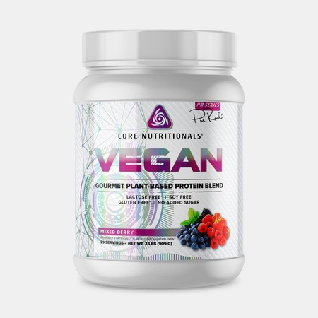 Core Nutritionals VEGAN Protein Mixed Berry - 2 Lb