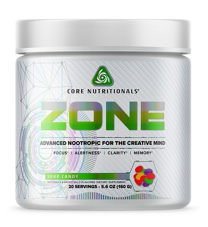 Core Nutritionals ZONE Sour Candy - 20 Servings