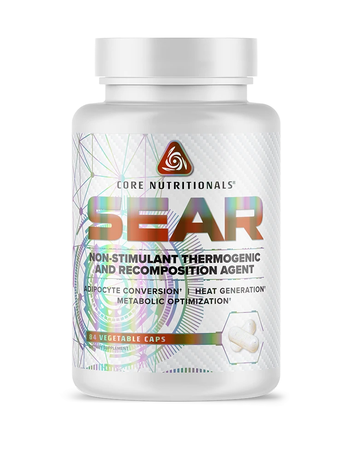 Core Nutritionals SEAR - 84 Cap   Non-Stimulant Thermogenic and Recomposition Agent
