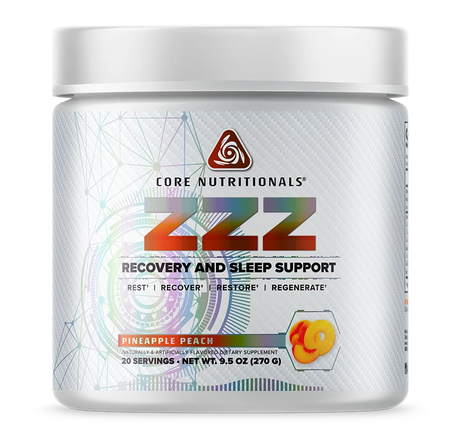 Core Nutritionals ZZZ Pineapple Peach - 20 Servings