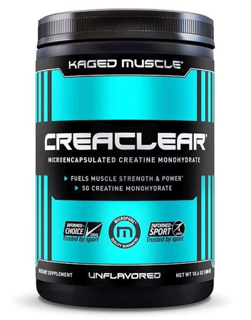 Kaged Muscle CreaClear Unflavored - 300 Grams (53 Servings)