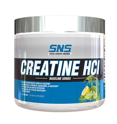 SNS Serious Nutrition Solutions Creatine HCL Lemon Lime - 150 Servings