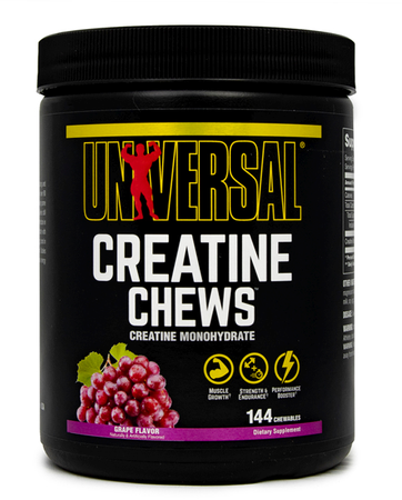 Universal Creatine Chews Grape - 144 Chews
