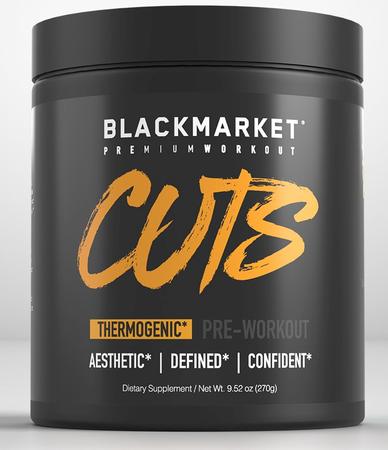 Blackmarket Labs Cuts Preworkout Sour Gummy - 30 Servings