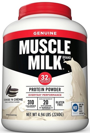 Cytosport Muscle Milk - Cookies & Cream - 4.94 Lb