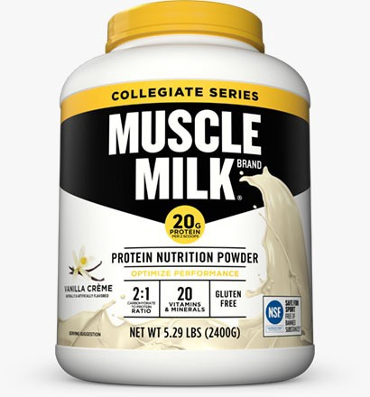 Cytosport Muscle Milk Collegiate Vanilla Creme - 5.29 Lb