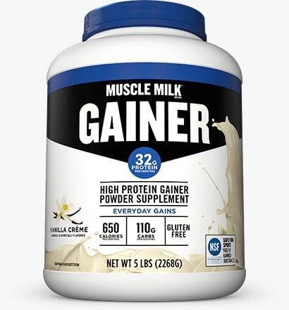 Cytosport Muscle Milk Gainer Vanilla - 5 Lb