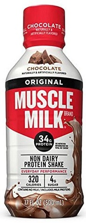 Cytosport Muscle Milk Original RTD Chocolate 17oz - 12 Containers