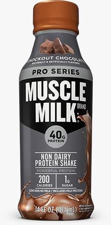Cytosport Muscle Milk RTD Pro Series 40 Chocolate 14 Oz - 12 Btls