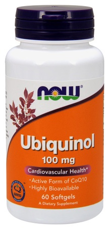 Now Foods Ubiquinol 100 Mg - 60 Cap