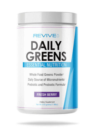 Revive Daily Greens Powder Formula  Fresh Berry  - 30 Servings