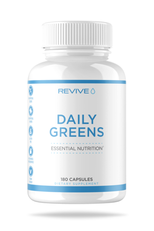 Revive Daily Greens Formula - 180 Capsules