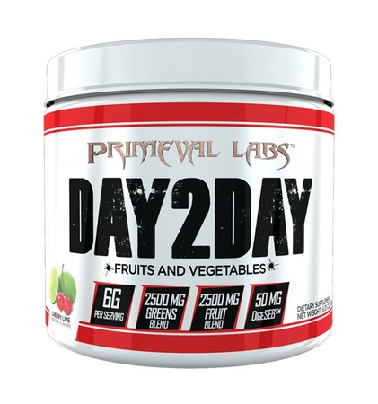 Primeval Labs Day2Day Fruits & Vegetables  Cherry Lime - 60 Servings