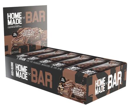Axe & Sledge Home Made Bar  Double Chocolate Brownie - 12 Bars