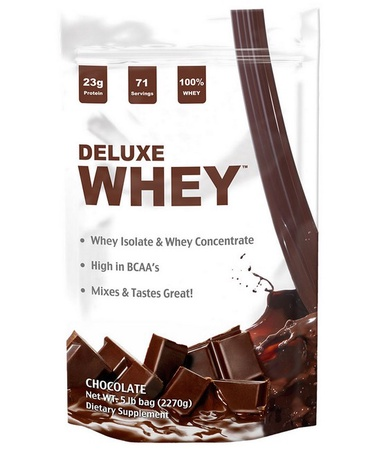 Deluxe Whey Protein Chocolate - 5 Lb
