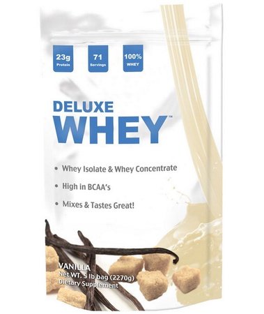Deluxe Whey Protein Vanilla - 5 Lb