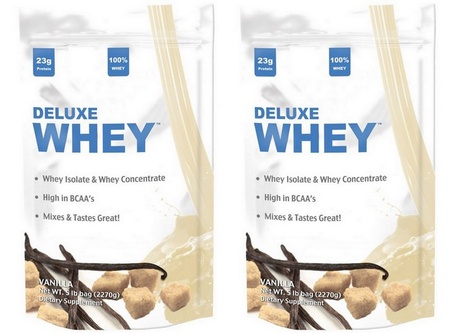 Deluxe Whey Protein Vanilla - 10 Lb