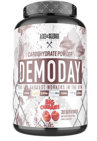 Axe & Sledge Demo Day Carbohydrate Powder Big Cherries - 30 Servings