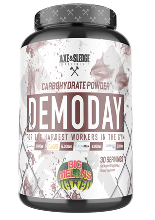 Axe & Sledge Demo Day Carbohydrate Powder Big Melons  - 30 Servings