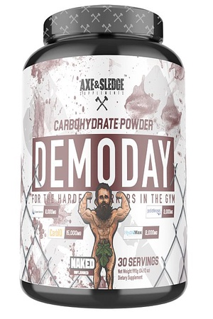 Axe & Sledge Demo Day Carbohydrate Powder Naked - 30 Servings