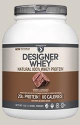 Designer Whey Protein Gourmet Chocolate - 4 Lb