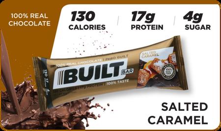 Built Bar Salted Caramel - 18 Bars