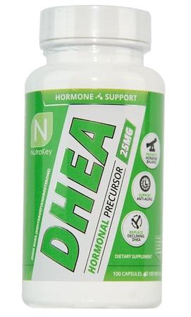 Nutrakey DHEA 25 Mg - 100 Capsules