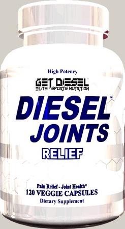 Diesel Nutrition Diesel Joints Relief - 120 Cap
